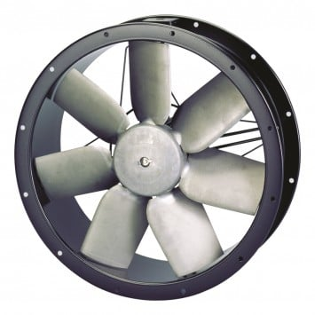 S&P cylindrical axial cased fan unit